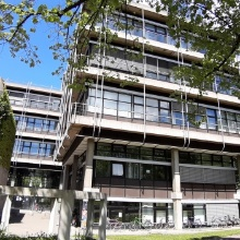 Building Pfaffenwaldring 7 at the Vaihingen Campus