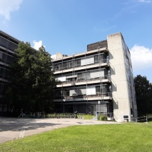 Building Pfaffenwaldring 7 on the Vaihingen Campus