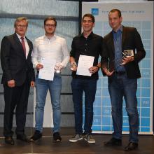 Verleihung des Preises im Rahmen des VDI-Wettbewerbs 2017