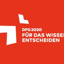 DFG2020 - Für das Wissen entscheiden Logo DFG2020